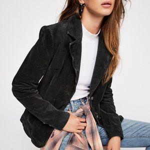 Free People Byron Vintage-Style Corduroy Jacket